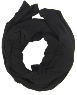 Turbante de tecido preto