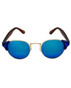Óculos de sol redondo espelhado Gemma