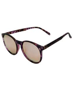 Óculos de sol roxo espelhado Lux