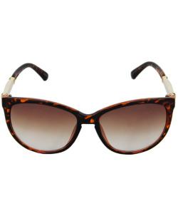 Óculos de sol marrom tartaruga Fania