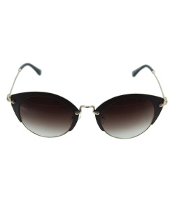 Óculos de sol marrom e dourado Texas