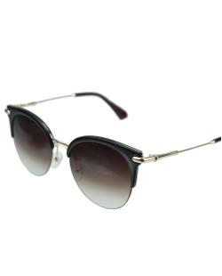 Óculos de sol marrom e dourado Indiana
