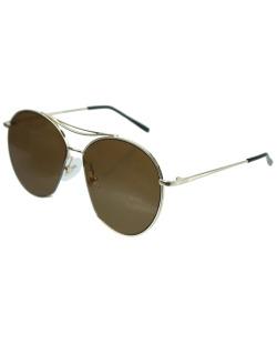 Óculos de sol marrom e dourado Florida