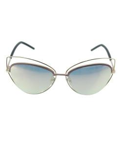 Óculos de sol dourado, rosa e espelhado New Jersey