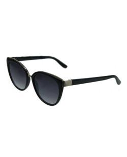 Óculos de sol preto e dourado Karl Lagarfeld