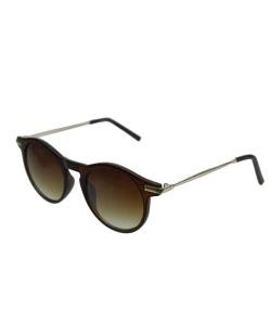 Óculos de sol dourado e marrom Domenico Dolce