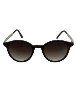 Óculos de sol dourado e tartaruga Stefano Gabbana