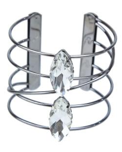 Bracelete grafite e cristal Jade