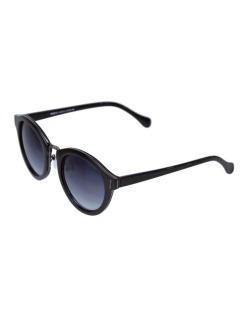 Óculos de sol preto e grafite Flecha