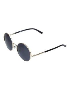 Óculos de sol dourado e  preto Wade