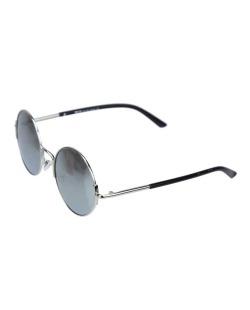 Óculos de sol prateado e espelhado cinza Wade