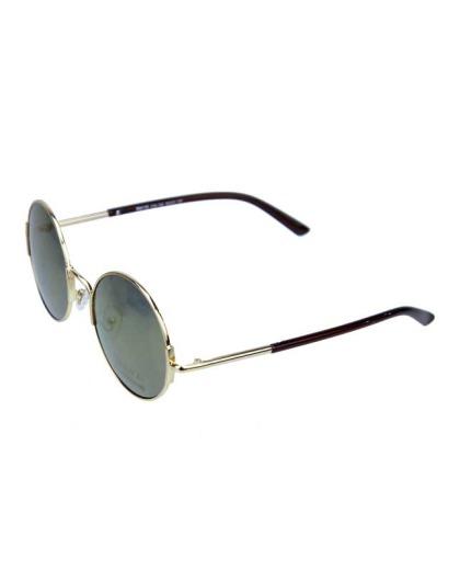 Óculos de sol dourado e espelhado dourado Wade