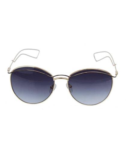 Óculos de sol dourado e preto Slay