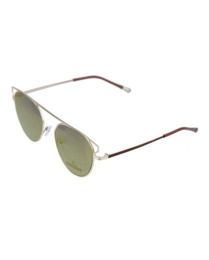 Óculos de sol dourado e espelhado dourado Kasey