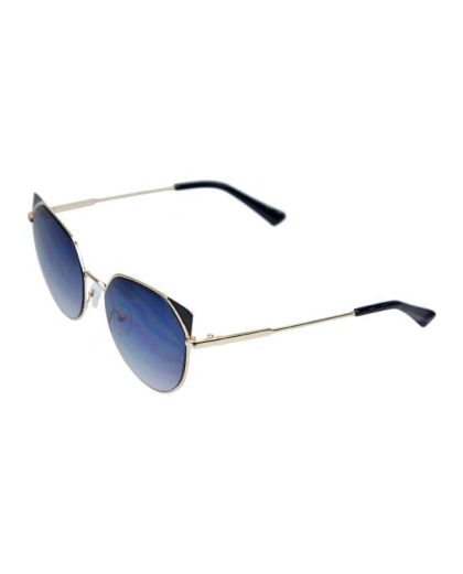 Óculos de sol dourado e preto Kat
