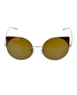 Óculos de sol dourado e marrom Werk