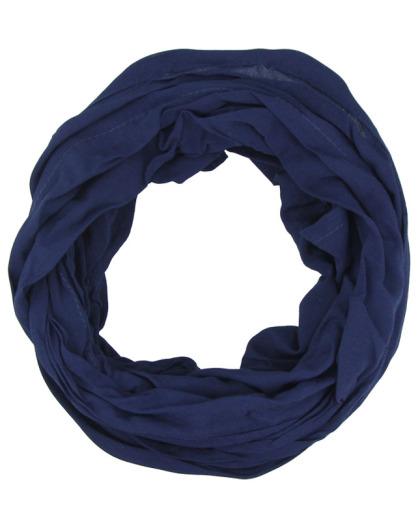 Turbante azul marinho