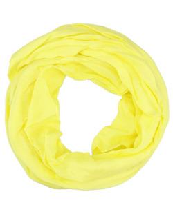 Turbante amarelo