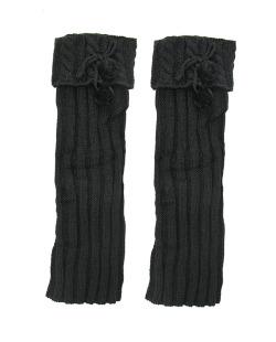 Polaina de lã preta Proença