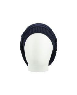 Gorro Beanie tricô azul Cahors