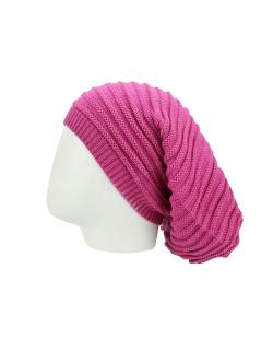 Gorro Beanie tricô rosa Cahors