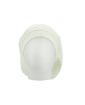 Gorro Beanie tricô branco Cahors