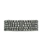Kit 5 pulseiras grafite com strass grafite Chivay