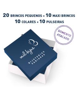 Kit com 50 Bijuterias Variadas