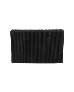 Bolsa de mão clutch preta Brus