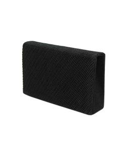 Bolsa de mão clutch preta Limón