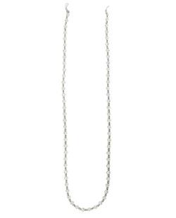 Eyeglass Chaine com pedras furta-cor e prata Mariann