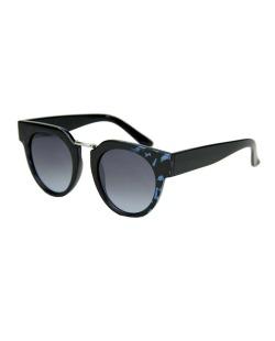 Óculos de sol preto e azul Poole