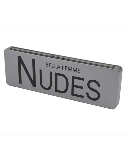 Estojo de sombra fosco nudes Bella Femme