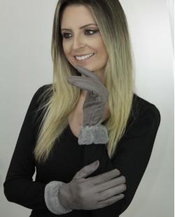 Luva de algodão cinza Rengar