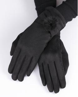 Luva de algodão preta Queen's