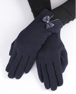 Luva de algodão azul Baldwin