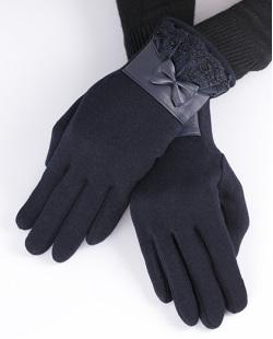 Luva de algodão azul Kloppel