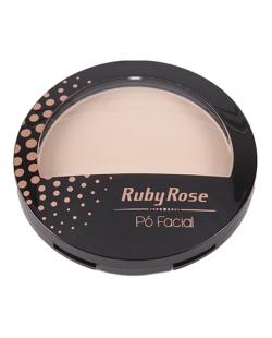 Pó Facial Ruby Rose Bege Claro