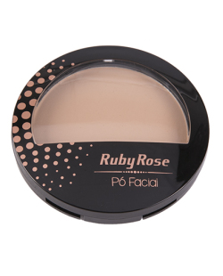 Pó Facial Ruby Rose Natural