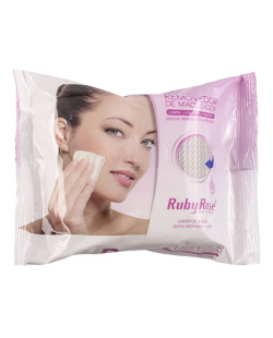Removedor de maquiagem Ruby Rose