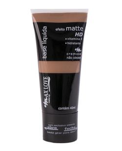 Base Líquida Matte HD Escuro - MAX LOVE