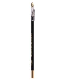 Lápis para os olhos preto com apontador Fenzza