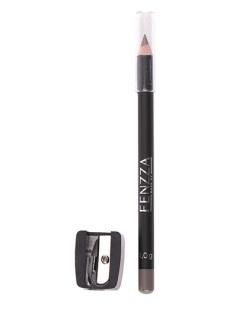 Lápis marrom acinzentado com apontador Fenzza