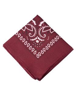 Bandana de tecido bordô Krevitz