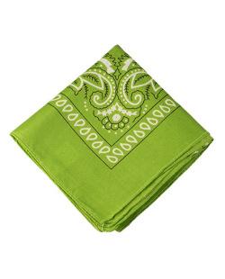 Bandana de tecido verde Krevitz
