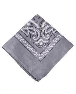 Bandana de tecido cinza Krevitz
