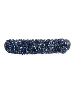 Pulseira de metal azul liz