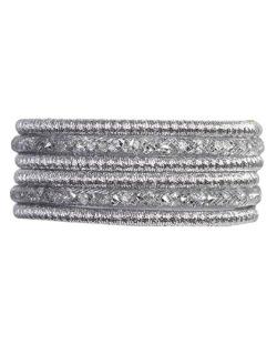 Pulseira de metal cristal kiara