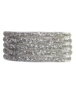 Pulseira de metal cristal raissa
