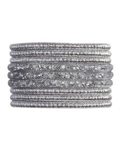 Pulseira de metal cristal isis
